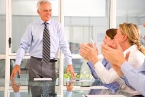 board meeting or seminar
