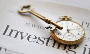 clock and key on investing newspaper